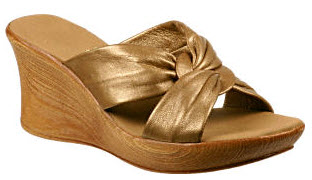 BronzeWomensWedges