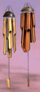 Bamboo & Shells Wind Chimes from Outdora