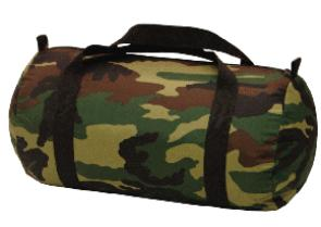 Camouflage Duffle Bag from Posy Lane