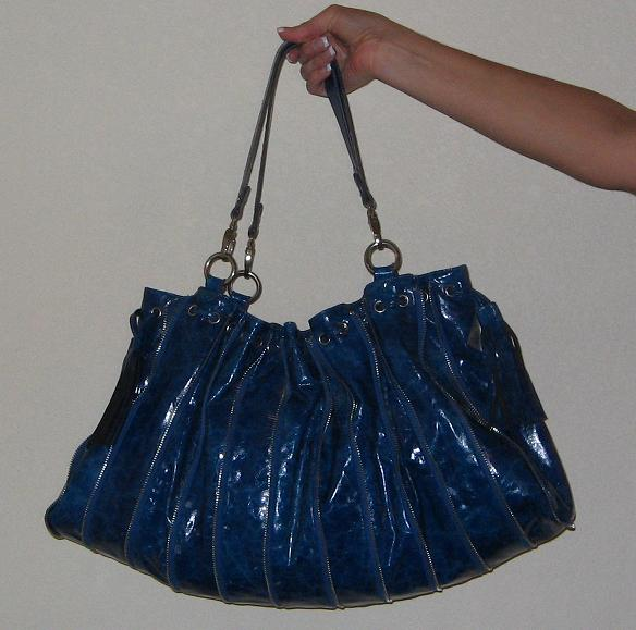 Blue Nicole Lee USA Handbag