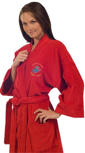Terry Bath Robe from Posy Lane