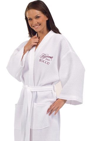 Waffle Bath Robe from Posy Lane