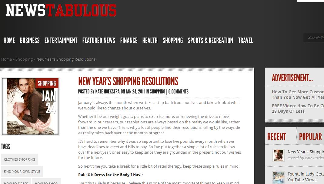 NewsTabulous.com