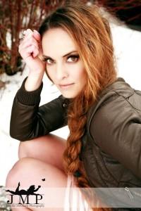 "Model: Kimberly Edwards; Photo: Jennifer McCready Photography; MUA/Hair: Erin Meester; Jewelry: ""K, Turn Around"" Jewelry by Kimberly Edwards"