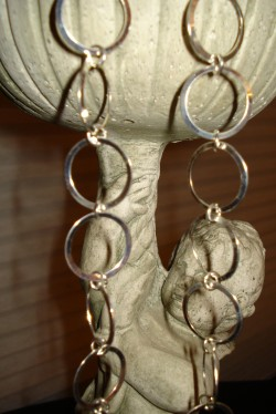 "'Diva Dangle"" Earrings in Silver from ""K, Turn Around"" Jewelry by Kimberly Edwards"