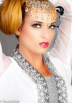 Model: Kimberly Edwards, Photo: Studio Wali, MUA: Maquillage by Farhana, Hair: Madiha Malik, Dress: Dhaagay by Madiha Malik, Agency: Kapow Models & Talent Agency