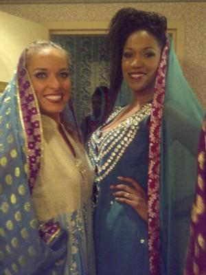 Canadian Models - Kimberly Edwards & Amanda Forde in Dhaagay by Madiha Malik