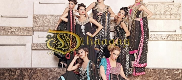 Kimberly Edwards - Dhaagay by Madiha Malik in Brides & You Magazine