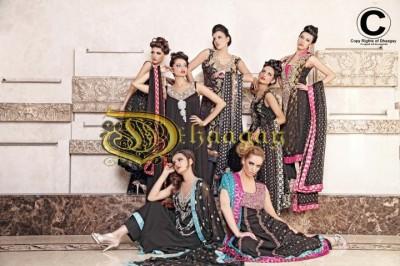 Kimberly Edwards - Dhaagay by Madiha Malik in Brides & You Magazine