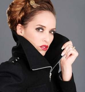 "Model: Kimberly Edwards; Photo: Michael Gray; MUA/Hair: Beauty in Motion; Design: Monikova; Jewelry/Accessories: ""K, Turn Around"" Jewelry by Kimberly Edwards; Agency: Kapow Models & Talent Agency"