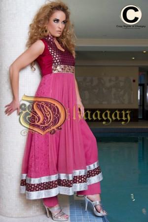 Dhaagay by Madiha Malik - Brides & You Magazine Shoot - Canadian Model, Kimberly Edwards