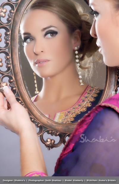 Mirror, Mirror - Canadian Model, Kimberly Edwards