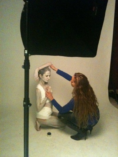 Behind the Scenes - Bianka Bargmann & Stylist, Kimberly Edwards