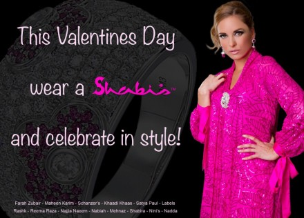 Valentine's Day Shabi's - Canadian Model, Kimberly Edwards