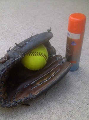 Softball/Baseball Glove Maintenance - http://Kimberly-Edwards.com
