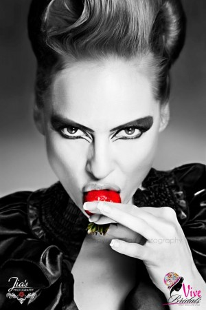 """Killer Strawberry"" - Canadian Model, Kimberly Edwards - Kimberly-Edwards.com"