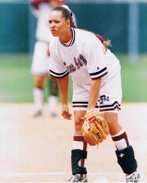 Pitching for Texas A&M - 1997 - Kimberly Edwards (Turner) - Kimberly-Edwards.com