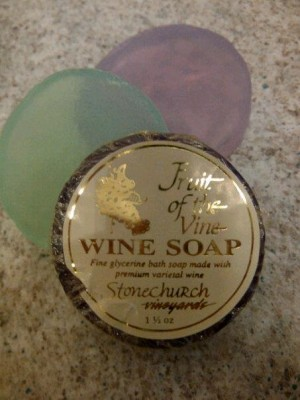 Stonechurch Wine Soaps - Kimberly-Edwards.com