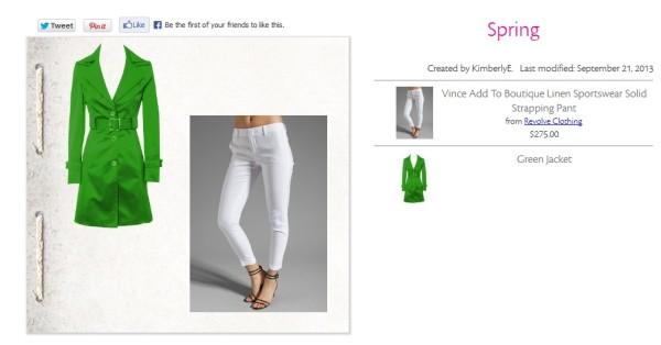 Spring Look @ shopatico.com