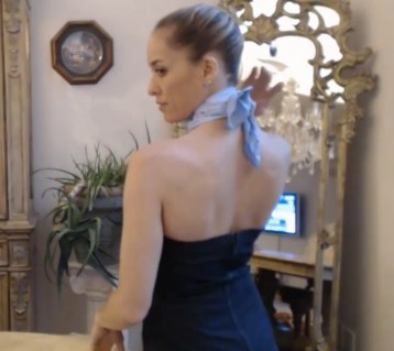 4 Evening Looks Silk Scarves: Web Chef of All Trades - kimberly-turner.com