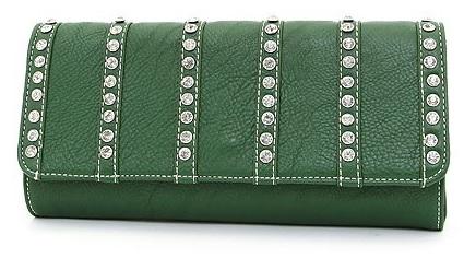 Western Rhinestone Clutch Handbag - fashionemall.com