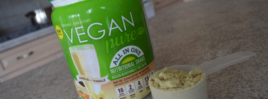 Web Chef Review: Vanilla Vegan Pure All-in-One Nutritional Shake - cookingwithkimberly.com