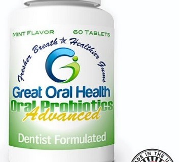 Great Oral Health Advanced Oral Probiotics in Mint - greatoralhealth.com