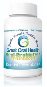 Great Oral Health Advanced Oral Probiotics in Strawberry Vanilla - greatoralhealth.com