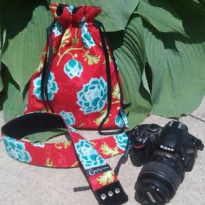Web Chef Review: Capturing Couture Camera Tote & Camera Strap - kimberly-turner.com